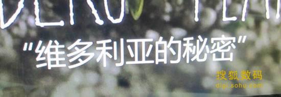 可使用SRT外挂字幕,可以看到字体是很圆滑美观的