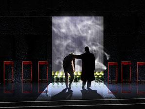 剧场舞台灯光效果图图片大全 奥帆剧场舞台灯光效果图