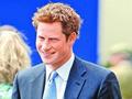 哈里王子现身慈善马球赛