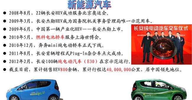 长安新能源汽车发展介绍