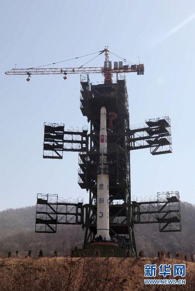 韩联社报道称朝鲜13日发射一枚远程火箭