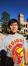 美国留学 王奕蛟 美国南加利福尼亚州大学