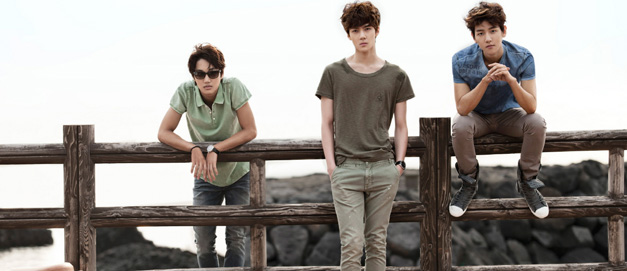 组图:EXO-K夏季服装写真 自由奔放展少年魅力