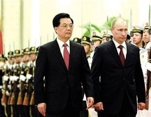 俄新总统普京再访华 - 九连 - 内蒙兵团一师四团九连