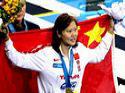 女子100米仰泳