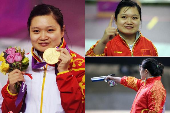 伦敦奥运:中国第五金(郭文珺) - 星夜焰火 - .