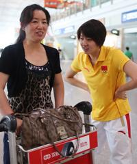 焦刘洋和妈妈