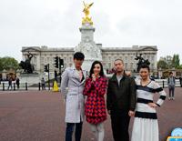 西游伦敦记:女王登基60周年庆典 逛王子大婚路