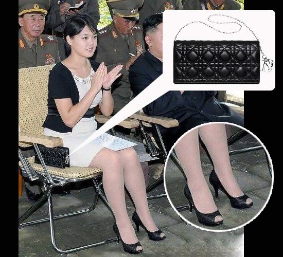 金正恩妻子用豪包 第一夫人也败家 搜狐女人