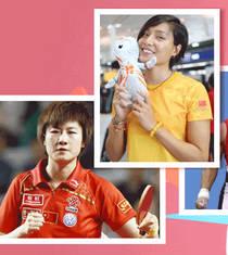 伦敦范:奥运超女