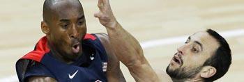 美国男篮大胜阿根廷
