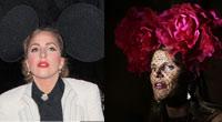 时尚魔头头戴大花 造型堪比Gaga