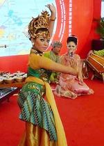 印尼传统歌舞表演