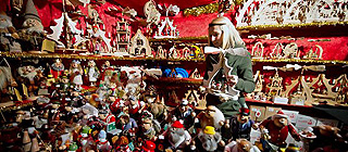 梦幻般的王国 德国迎接圣诞装饰一新