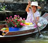 东方威尼斯-泰国水上市场