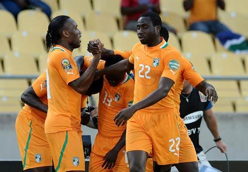 非洲杯-热鸟传射科特迪瓦2-1多哥 突尼斯补时胜
