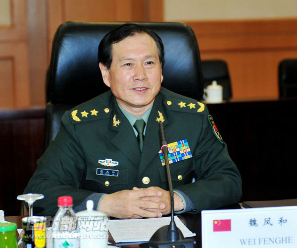 资料图:新任第二炮兵部队司令员魏凤和。