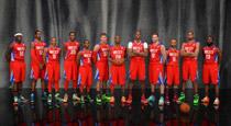 NBA东西部全明星写真