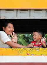泰缅之旅—开往幸福的列车