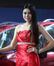 温州车展,美女,车模