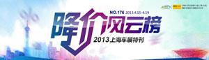 新车降价榜2013上海车展特别版:奔驰C级/马6等车型狂降3成