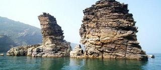 老铁山头入海深 黄海渤海自此分