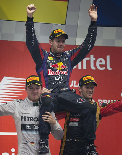 红牛以法拉利的方式统治F1