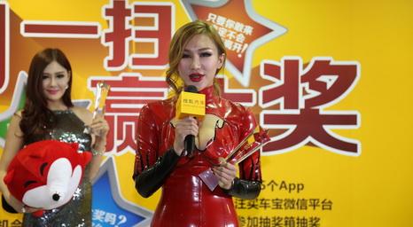 2013广州车展搜狐汽车车模权力榜