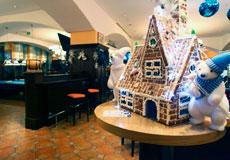 欢飨圣诞派对 悠唐皇冠假日酒店