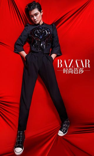 时尚芭莎公益星设计-搜狐