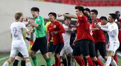 詹姆斯92分钟击中门楣 申鑫0-0宏运