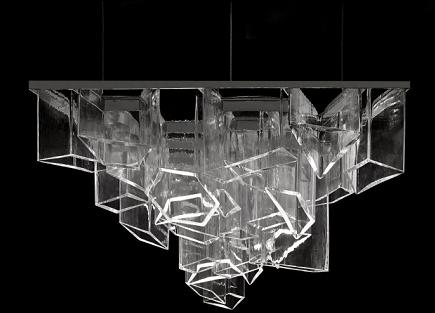2014米兰设计周:lasvit来自未来的灯