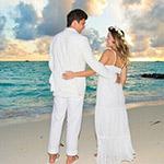 埃神与孕妻拍浪漫婚纱照