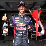 里卡多登顶F1加拿大站