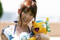 日本女优与足球