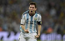 梅西破门建功造乌龙 终结世界杯8年球荒