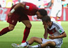 穆勒带帽佩佩染红 德国4-0葡萄牙