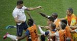 吉鲁本泽马破门法国5-2瑞士