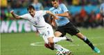 英格兰1-2乌拉圭