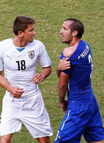 意大利0-1乌拉圭