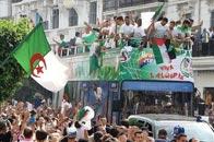 阿尔及利亚归国游行庆祝