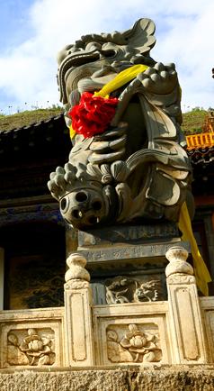 第二大悬空寺庙北禅寺