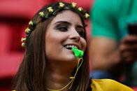 巴西靓妹变最美裁判