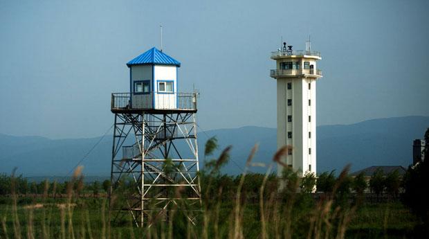 黑瞎子岛边防哨所