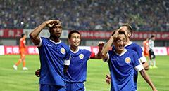王大雷失误多利奔袭 毅腾2-0胜鲁能