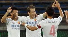 海森传射武磊破门 东亚2-1胜亚泰