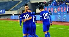 布鲁诺点球救主 阿尔滨两度落后2-2舜天