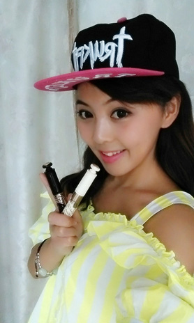 """""""可爱教主""""梦洁 教你打造韩系甜美妆容"""