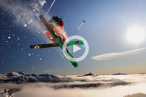 滑雪者的天堂―冬天到惠斯勒滑雪