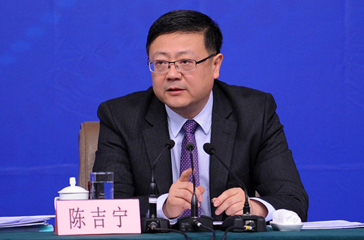 环保部长陈吉宁答记者问